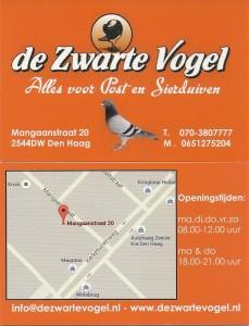 adres kaartje